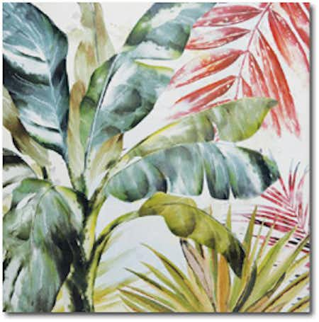 La toile TROPICAL B