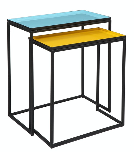 Le set de 2 tables rectangulaires PROMOTIONS